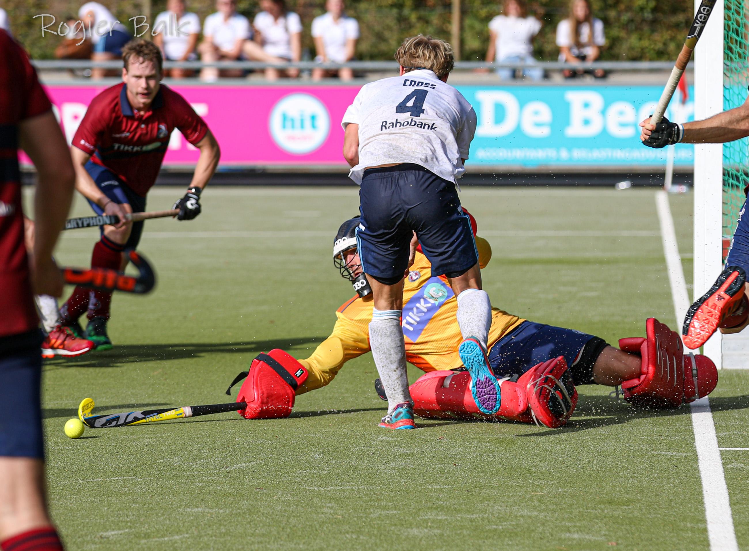 HC Tilburg. h1, Tim Cross, seiz19-20. KZ