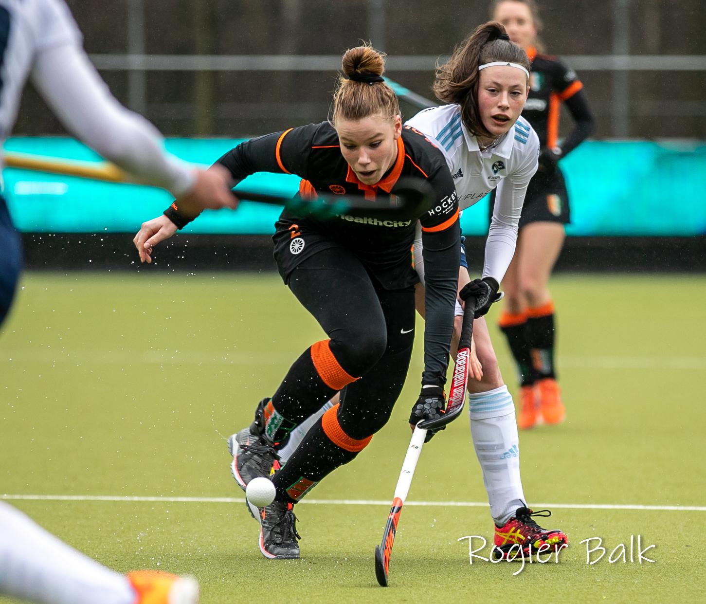 HC Tilburg, HIC, dames1, seiz19-20